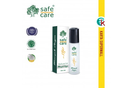 Safe Care Minyak Angin Medicated Oil Rollon 10ml
