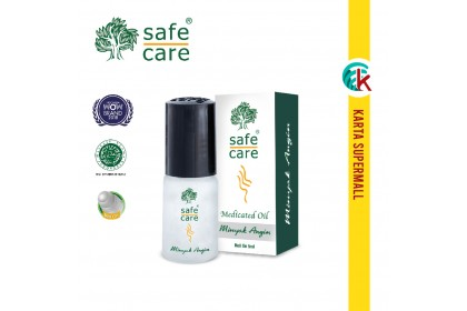 Safe Care Minyak Angin Medicated Oil Roll On 5ml