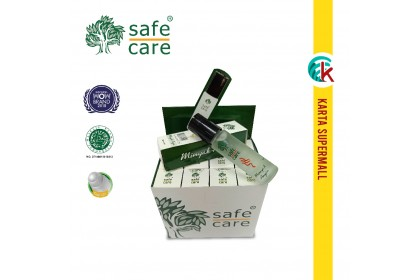 Safe Care Minyak Angin Medicated Oil Roll On 10ml x 12 bottles