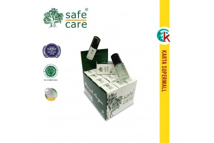 Safe Care Minyak Angin Medicated Oil Roll On 5ml x 12 units